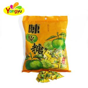 New product Vitamin C Tangerine Peel Flavor Soft Candy