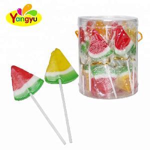 Watermelon Flavor Halal Hard Lollipop Sweet