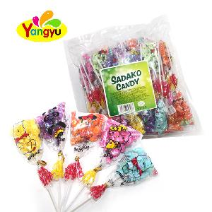 Bag Packing Assorted Fruit Flavor Mini Sweet Twist Hard Candy Bunch