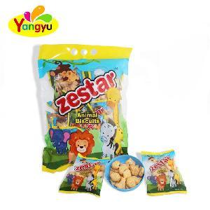 Halal Biscuit Animal Shape Cream Cookies Biscuits