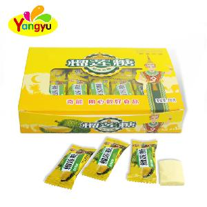 Halal Durian Fruity Flavors Gummy Soft Candy