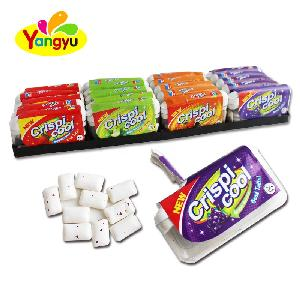 Mix Natural Healthy Fruit Flavor Xylitol Pillow Chewing Gum
