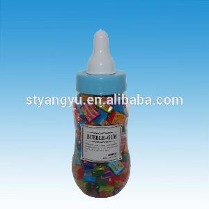 Childhood memories packing in nipple bottle mix fruit flavor sweet strawberry bubble gum