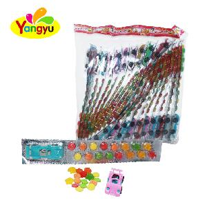 Mix Fuits Tablet Candy Gummy Candy with Toy Car