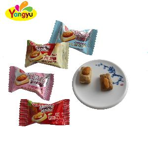 Milk   candy  with almond apricot  milk   candy