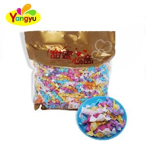 Halal Candy Transparent Packing Fruity Flavors Mini Twist Hard Candy