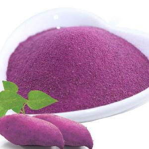 Dehydrated Purple Sweet Potato Powder Tasty Pleasant  Flavour