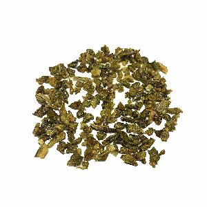 Dried 10x10mm  Green Bell Pepper Flakes For Low Price