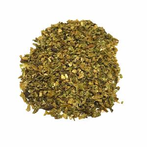 Dried Vegetable 3x3mm  Green Bell Pepper Flakes With Best Quality