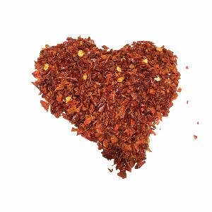 New Crop Dehydrated Vegetable Red Bell Pepper Granules  for cooking