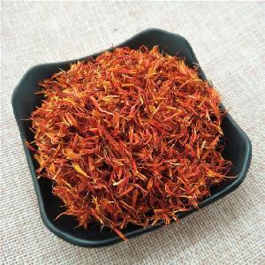 Hong hua pure natural and organic Dried xinjiang raw  yellow  Safflower flower tea