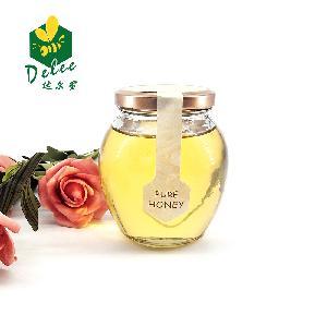Jar for honey  queen  bee honey flower premium honey