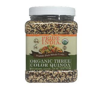 Organic Bolivian Tri-Color Quinoa  (3.3 LBS, 1497 gms)