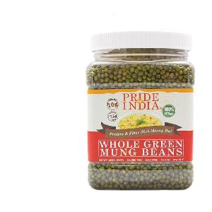 Whole   Green   Mung   Beans  (3.3 LBS, 1497 gms)