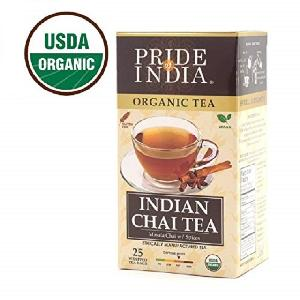 Pride Of India -  Organic  Indian Masala Spice Chai  Tea - Bulk Pack (500  Tea   Bags ) - Blend of Assam  Black   Tea    5 Vegan Mulling