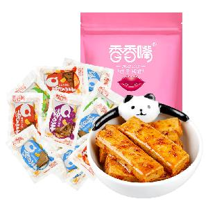xiangxiangzui 500g  Dried Bean Curd Various Spicy Flavor mixed Vegetarian Meat   chinese snack