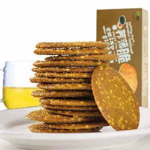 150g Sichuan  Healthy Food Xylitol Egg Buckwheat Crisp Diabetic Food chinses snack