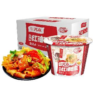 100g COLD SKIN NOODLES Instant Ramen  Chinese Sichuan food snack