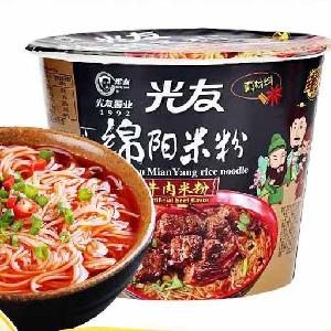135g*12 boxes rice vermicelli  noodles mi fen Instant Ramen  Chinese Sichuan food snack