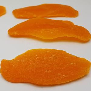 Dehydrated Dried Mango slices orange color added Thailand