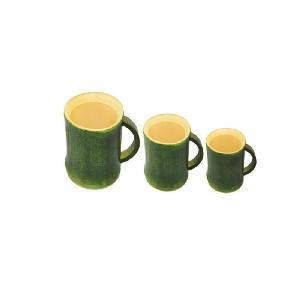 Natural green bamboo cup bamboo tea cup creative gift