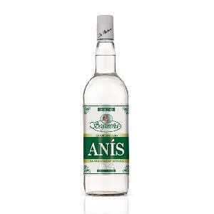 White Color Segurena Dry Anisette Liqueur with 50% Alcohol