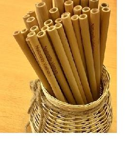 Durable Natural bamboo straw in 2018
