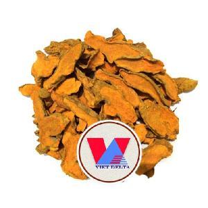 Vietnam Dried Slice Turmeric Machine Dry and Sun Dry / Curcumin Source
