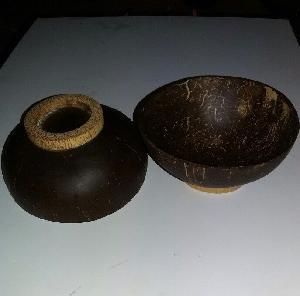 natural coconut shell bowl for restaurant (Mr. Gray - Whatsapp: +84 327005456)