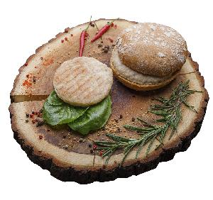 Premium quality natural frozen  chicken   burger  patties box for original cooked  chicken   burger