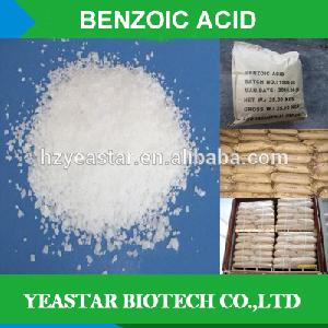 Industry or food grade sodium benzoate Benzoic acid