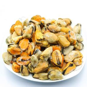 Boiled Mytilus Edulis Meat Frozen Mussel Without Shell Mussel