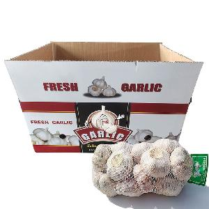 Hot Sale Natural Fresh White Garlic 10kg Box