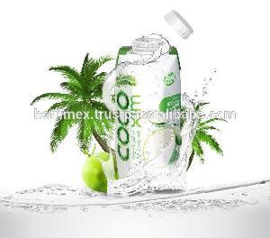 Bottled coconut water made in Vietnam