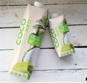 High quality organic coconut water in tetra pak 330ml,1000ml - Made in Vietnam