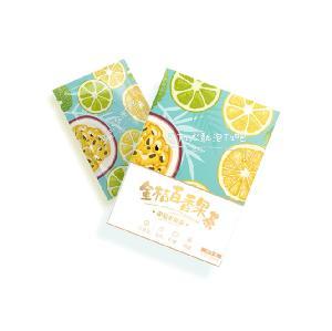 Hot Sale Freeze Dried  Handmade  Fresh Cold Bubble Fruit Tea Green Kumquat Lemon Passion Fruit Tea 6 bags/ box