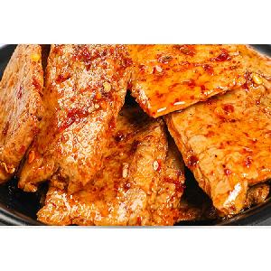 Cheap vegan jerky tofu meat substitute snack OEM soybeans product barbecue taste Hot sale spicy beans snacks