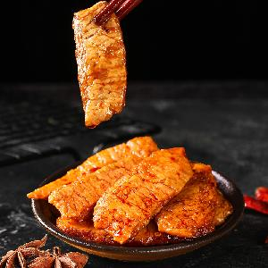 Hot sale chinesische spicy chili vegan meat snack strip diet latiao snacks