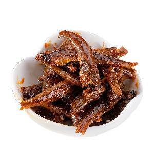 Crispy fish anchovies snack food storage products healthy food organic