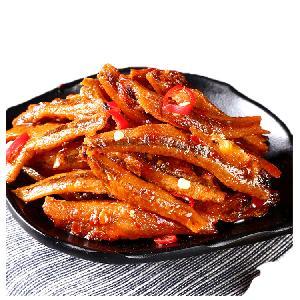 China supplier snacks food fish seafood chilli flavorsnacks