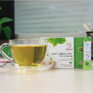 Green matcha tea powder made from green tea extract health care products
