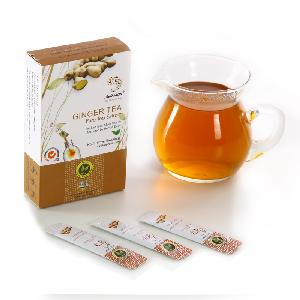 Free Sample OEM Instnat Ginger Tea Weight Loss Green Tea Extract Ingredients For Winter Outdoor Activity