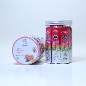 Mild Peach Ice  Organic   Instant   Green   Tea  Crystal