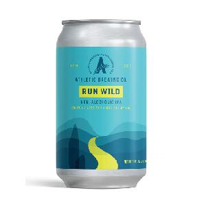 Made In  USA  Run Wild IPA Non-Alcoholic Beer Beverage Non-Alcohol  Fruit  Beer in Can