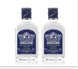 1000ml Excellent Wholesale Frosted Design  Bottle   Vodka