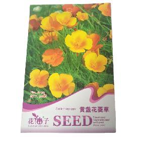 yellow flower Eschscholzia californica seeds/Eschscholtzia/Eschssholzia seeds with small flower seeds bags $0.59/bags