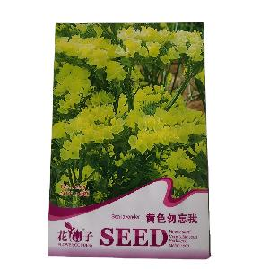 Yellow flower Remember Me seeds/Forget-me-nots seeds/forget me not seeds with small flower seeds bags $0.59/bags