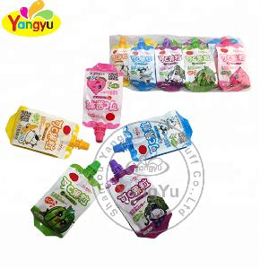 Latest model health natural fruit flavor Vitamin C tasty fruity jelly bulk bag jelly