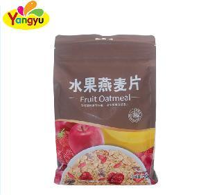 Original Flavor Nutritive Instant Fruit Oatmeal bag pack sweet oatmeal breakfast fruit oatmeal