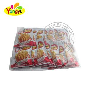 Tomato flavor potato chips french fries snacks